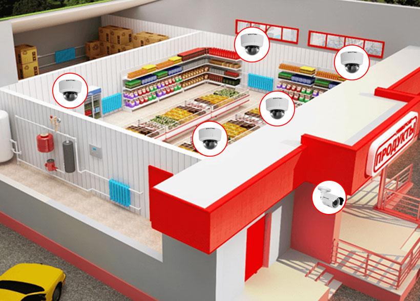 Системы видеонаблюдения для магазина